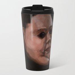 Dark eyes Travel Mug