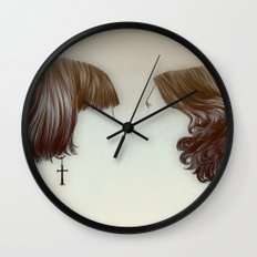 hairstyles Wall Clock