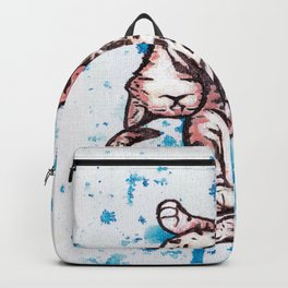 Drunk Kitty Backpack