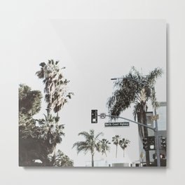 N Coast Highway Metal Print