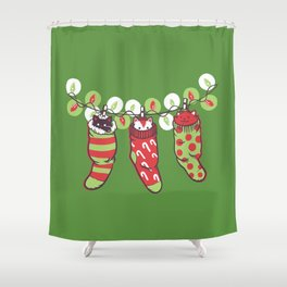 Jingle Meow Shower Curtain