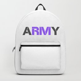 BTS RM ARMY Backpack
