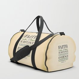 The Substance of Things Hoped for . . . Duffle Bag