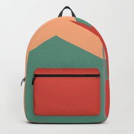 Red, Orange Green Pastel Backpack