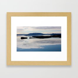 The Land of Fire and Ice 6 Framed Art Print
