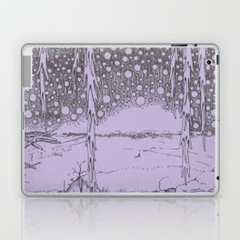 Twilight Snowfall Laptop & iPad Skin