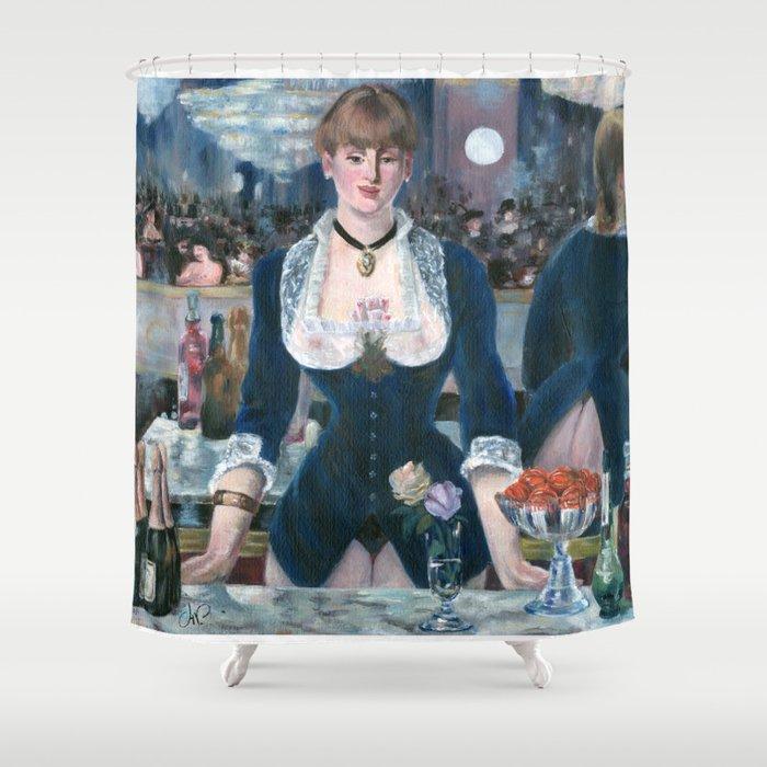 Erotic Manet Shower Curtain