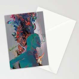 Beneath the Air Stationery Cards