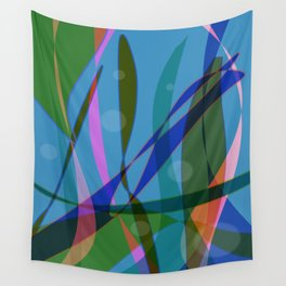 Abstract #355 Wall Tapestry