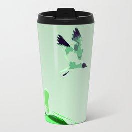 Beach Graphics No 2: Kelly Green Travel Mug