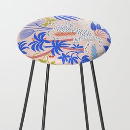 Rainforest Leopard Counter Stool