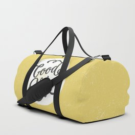 good vibes logo new art love cute 2018 2019 style yellow vibes beach new hot style fashion case cove Duffle Bag
