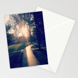 white way of light. Stationery Cards
