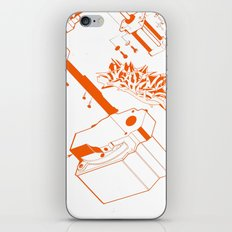 Orange Tech iPhone & iPod Skin