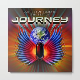 journey the best tour 2019 2020 terserah Metal Print