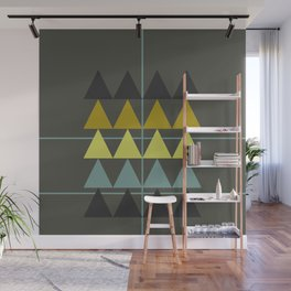 disguise forest || spring neon Wall Mural