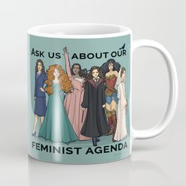 Feminist Agenda Coffee Mug