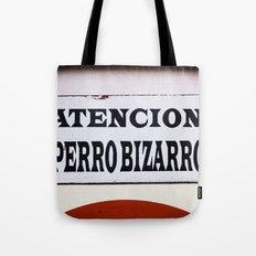 Perro Bizarro Tote Bag