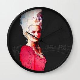 Kirsten Dunst as Marie Antoinette Wall Clock