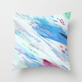Wisps Throw Pillow