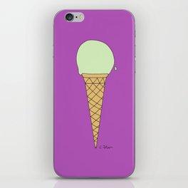 P I S T A C H I O w/S U G A R  C O N E iPhone Skin