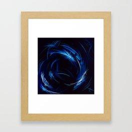 Riding The Stars To Daylight Framed Art Print