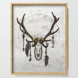 Bestial Crowns: The Elk Serving Tray