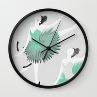 ballet Wall Clocks featuring BALLET by Kiley Victoria
