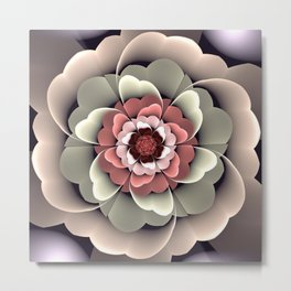 Fantasy spring flower Metal Print