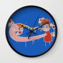 Pizza Guy Wall Clock