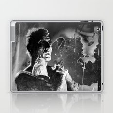 Like tears in rain - black - quote Laptop & iPad Skin