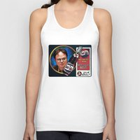 dwight Tank Tops featuring Dwight Schrute  |  Beet Cola Advertisement by Silvio Ledbetter