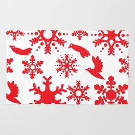 Snowbird Pattern Rug