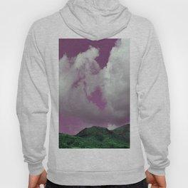 emerald hills purple skies Hoody