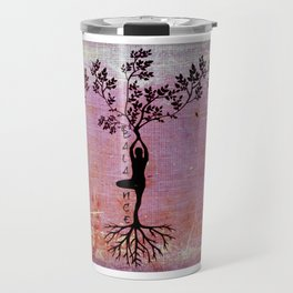 Yoga Gals- Flexibility, Balance, Strength Travel Mug