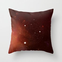 A Constellation for the Empire Throw Pillow