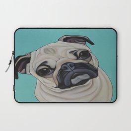 Pug Portrait Laptop Sleeve