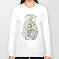 aquarius Long Sleeve T-shirts featuring Aquarius by clayscence