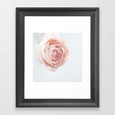 Rosey outlook Framed Art Print