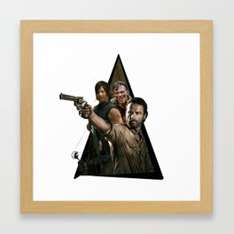 Youtriangle ∆ The Walking Dead Framed Art Print