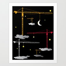 The Night Crew Art Print