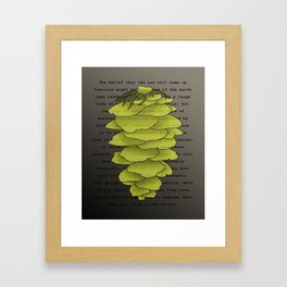 Russell on Induction Framed Art Print