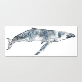 Whalep Canvas Print