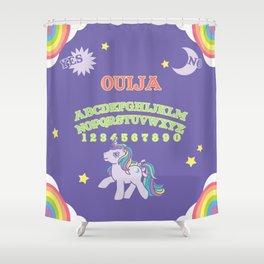 My Little Pony Ouija Board Shower Curtain
