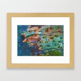 Aquarium Framed Art Print