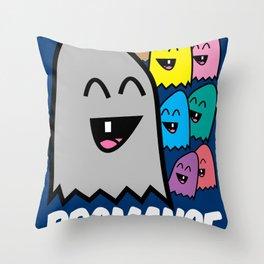 Bromance Throw Pillow
