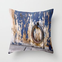 Entrance to an Old World Throw Pillow