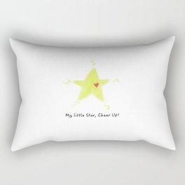Fan's little positive energy - My little star,Cheer Up! Rectangular Pillow