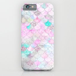 mermaid scales pattern  iPhone Case