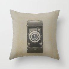 Vintage Kodak Throw Pillow